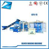 Mobiler Qt6-15 Ziegeleimaschine-Betonstein, der Maschinen herstellt
