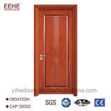 Porte en bois de chambre à coucher classique simple de modèle