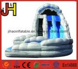 熱い販売の水ゲームのための膨脹可能なOrange&Blue水スライド