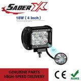18W à prova de 4 polegadas a Luz de Trabalho do LED de inundação /Barra de luz de nevoeiro para Jeep/SUV/Caminhão