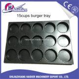 De Dienbladen van het Baksel van het Brood van de Hamburger niet van de Stok van het aluminium, de Pan van het Baksel van het Broodje voor Verkoop