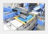 Máquina de impresión de pantalla automática de cinta elástica y cordón