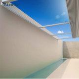 電気防水引き込み式のデッキの日除けの屋根