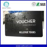 Superfície Mate UV Spot Cartão de PVC com 300OE tarja magnética