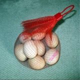 Пластичный мешок сетки чеснока упаковки крена сетчатого мешка сетки