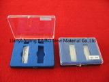 Bailo 1mm de longitud de la ruta Micro Celda con tapa y fondo redondo Cubetas de cuarzo óptico
