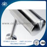 Casquillo de extremo de tubo de acero inoxidable de los Ss que cerca con barandilla 316