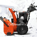 """15HP 30 """" Loncinの雪エンジンの専門の除雪車"""