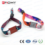 Scheda astuta impermeabile di identificazione che segue il braccialetto del Wristband di RFID/NFC