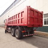 Sinotruk HOWO 대형 트럭 10wheels 6X4 덤프/팁 주는 사람 트럭