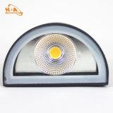 Las ventas calientes 12W impermeabilizan la lámpara de pared exterior moderna de aluminio del LED