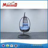 屋外のテラスアルミニウムフレームの単一の振動椅子