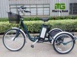 Três importação China Trike elétrico da carga da roda 250W para a pessoa idosa