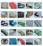 Harise varia o tipo correias com o fornecedor do material de Rubber/PU