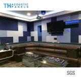 Placa acústica decorativa interior da fibra de poliéster de Retartant da flama para KTV
