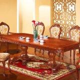 식당 가구 세트 (8808)를 위한 목제 테이블과 소파 의자