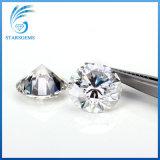 Vvs 명확성 도매가 Moissanite 둥근 화려한 차단된 백색 다이아몬드