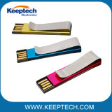 Clip de metal colorido Clip Clip USB Flash Drive 32GB