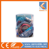 Jc4gwk/JC8gwk Instllation Amplificador Kit Car Kit Kennects do kit de cablagem