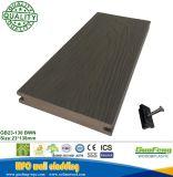 Co Extrusão de madeira plástica deck composto Flooring