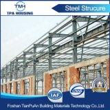 Talleres ligeros prefabricados de la estructura de acero del bajo costo