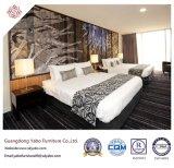 Herrliche hölzerne Hotel-Schlafzimmer-Möbel mit doppeltem Bett (YB-H-1)