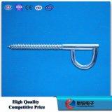 Accessoires du crochet FTTH d'O-Forme d'acier inoxydable