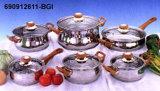 La armonía de la serie Oro menaje de cocina - 909126-BGI