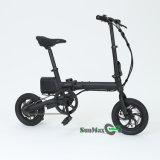 Мини-складной велосипед с электроприводом