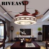 Lumière de ventilateur de plafond de fantaisie de ventilateur de refroidissement de ventilateur de plafond