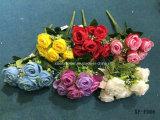 Rosebud artificiale/di plastica/di seta Bush (XF-FD06) del fiore