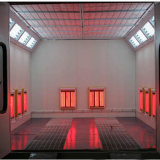 Because Spray Booth Baking Oven Electric Heating Infrared Lamp Booth Spray