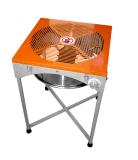 Condensador de ajuste del brote de hoja de la máquina del condensador de ajuste automático del vector del jardín 18inch del hidrocultivo