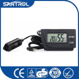 Schwarze Digital-Temperatur und Feuchtigkeits-Thermometer