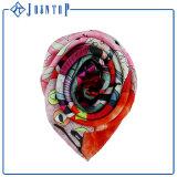 Vários Estilos de cores mulheres 100% lenço de seda de impressão