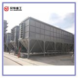 usine chaude d'asphalte de mélange de Filterbag 80t/H de fibre de Nomex du mélangeur 1000kg