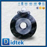 Vávula de bola asentada metal flotante del diseño seguro del fuego de Didtek