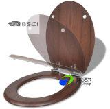 Asiento de tocador de madera moldeado de madera chino del precio de fábrica de la venta directa BSCI