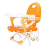 Baby-hoher Stuhl-führender Stuhl Plastikabendessen-Stuhl