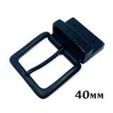 Alliage de zinc métal de haute qualité réversible broche boucle la boucle de ceinture pour les courroies de chaussures du vêtement Robe de sacs à main (XWS11111--ZD208)