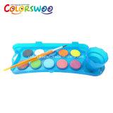 El arte suministra la torta del color de agua del 12*2.8cm para la pintura y el gráfico W1228h