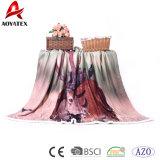 Украшения полиэфира домашние напечатали одеяло Micromink Sherpa