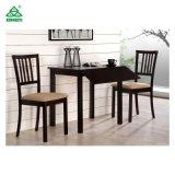 Los muebles del comedor fijan el vector de cena de los fabricantes con las sillas