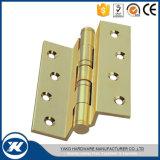 """ bisagra de puerta de madera de la seguridad 5 del tope de cobre amarillo de la puerta"