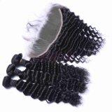 Les faisceaux de cheveux humains d'onde de l'eau Lab usine Virgin Remy vison naturel des cheveux humains