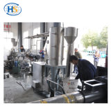 200kg/H de Bundel die van het water de Tweeling Plastic Extruder van de Schroef snijdt