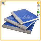 Notebook empresarial de couro PU personalizado imprimindo