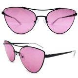 Olho de Gato óculos de metal para senhora