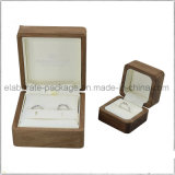 Лоснистая отлакированная коробка упаковки Shining высокого качества картины красная деревянная для пакета ювелирных изделий или подарка