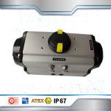 Válvula de mariposa del control de los actuadores neumáticos